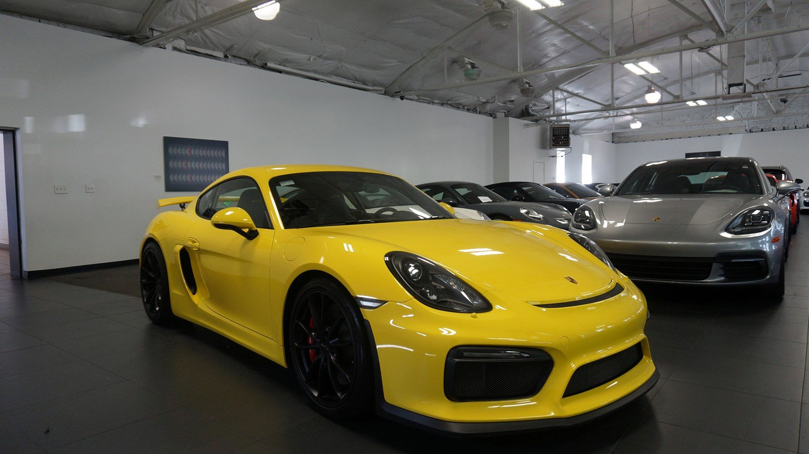 certified pre-owned 2016 porsche cayman gt4 2dr car in salt lake