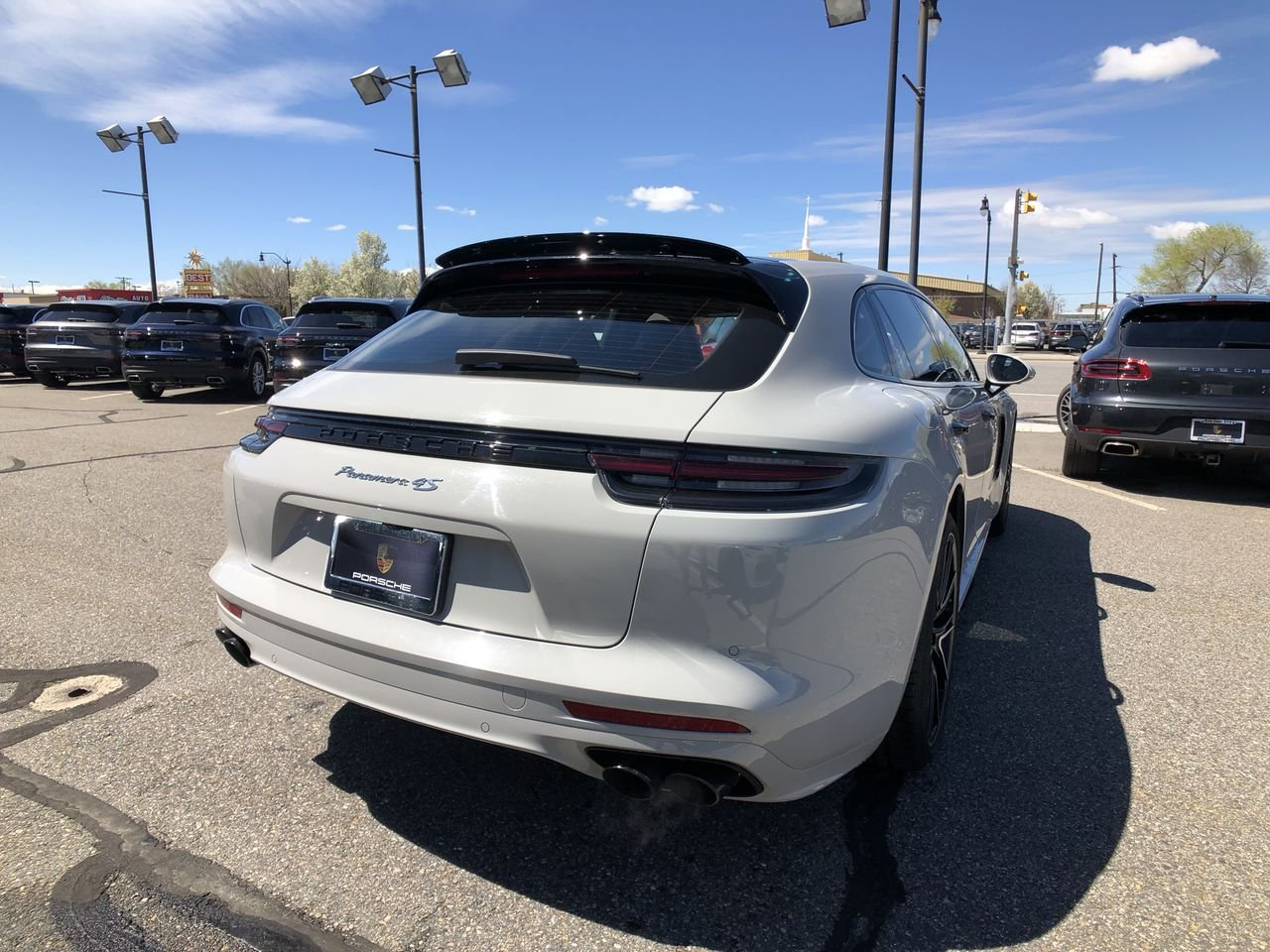 Certified Pre-Owned 2018 Porsche Panamera 4S Sport Turismo AWD