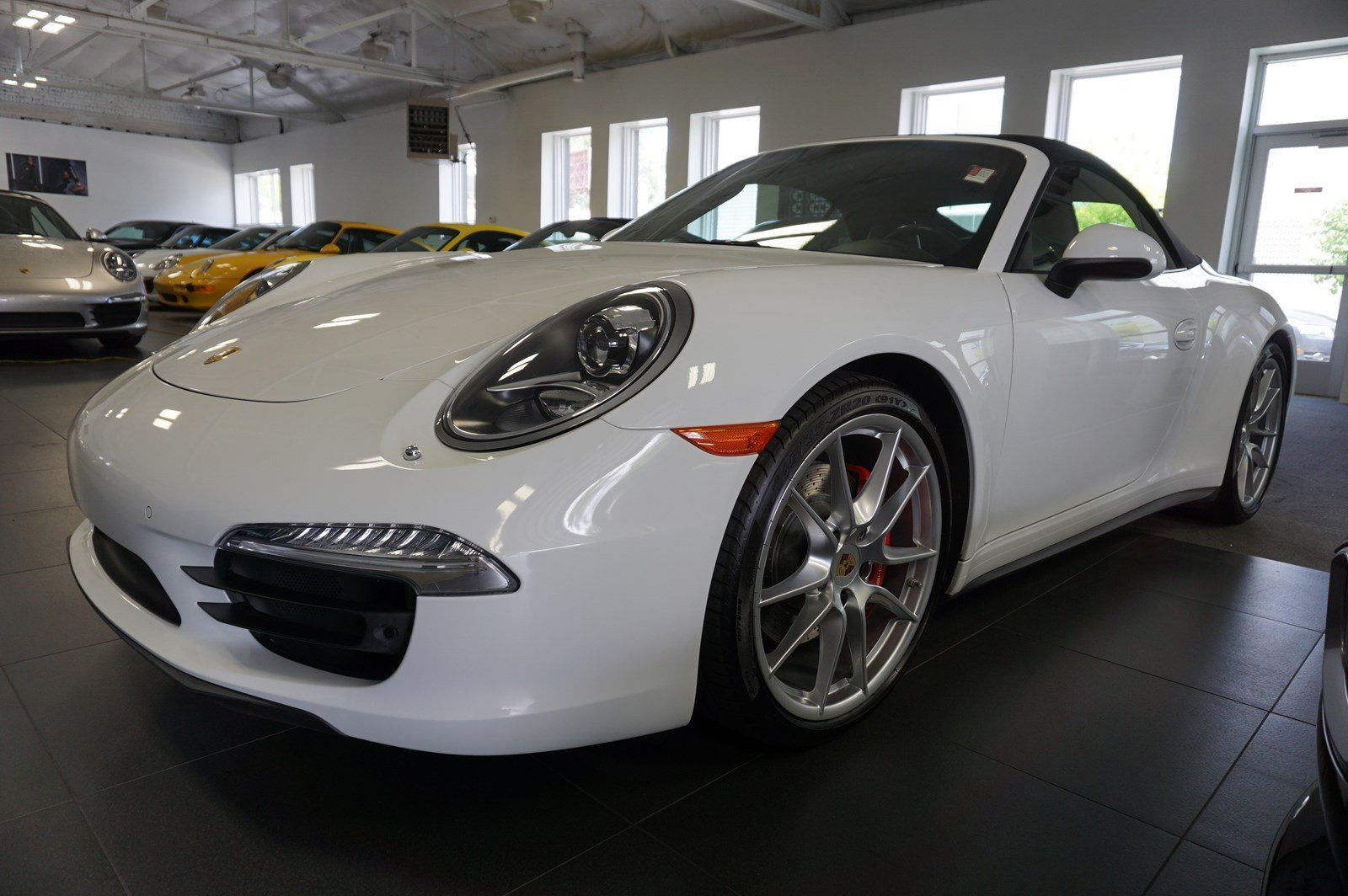Certified Pre-Owned 2014 Porsche 911 Carrera 4S Cabriolet