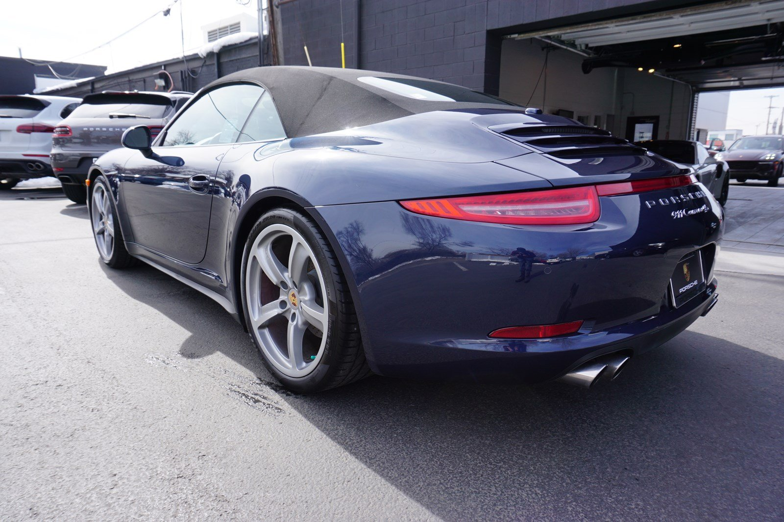 Certified Pre-Owned 2015 Porsche 911 Carrera 4S Cabriolet