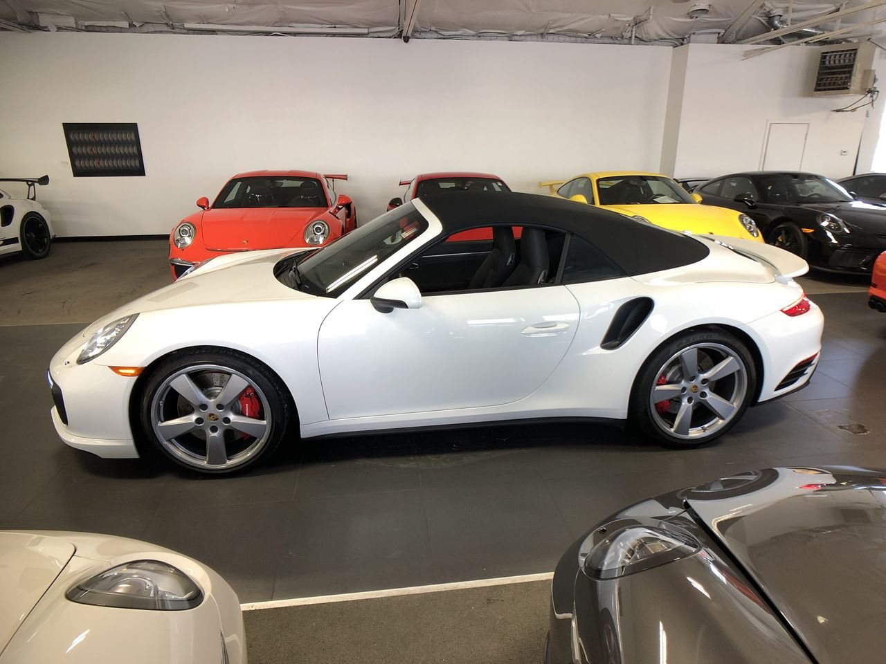 Certified Pre-Owned 2017 Porsche 911 Turbo Cabriolet