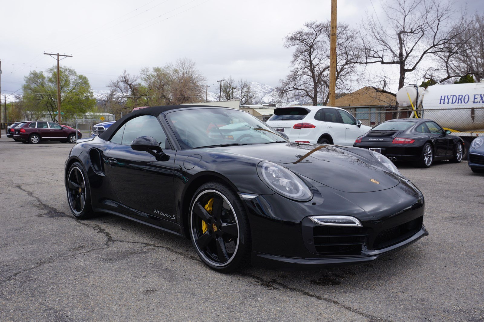 certified pre-owned 2016 porsche 911 turbo s cabriolet convertible