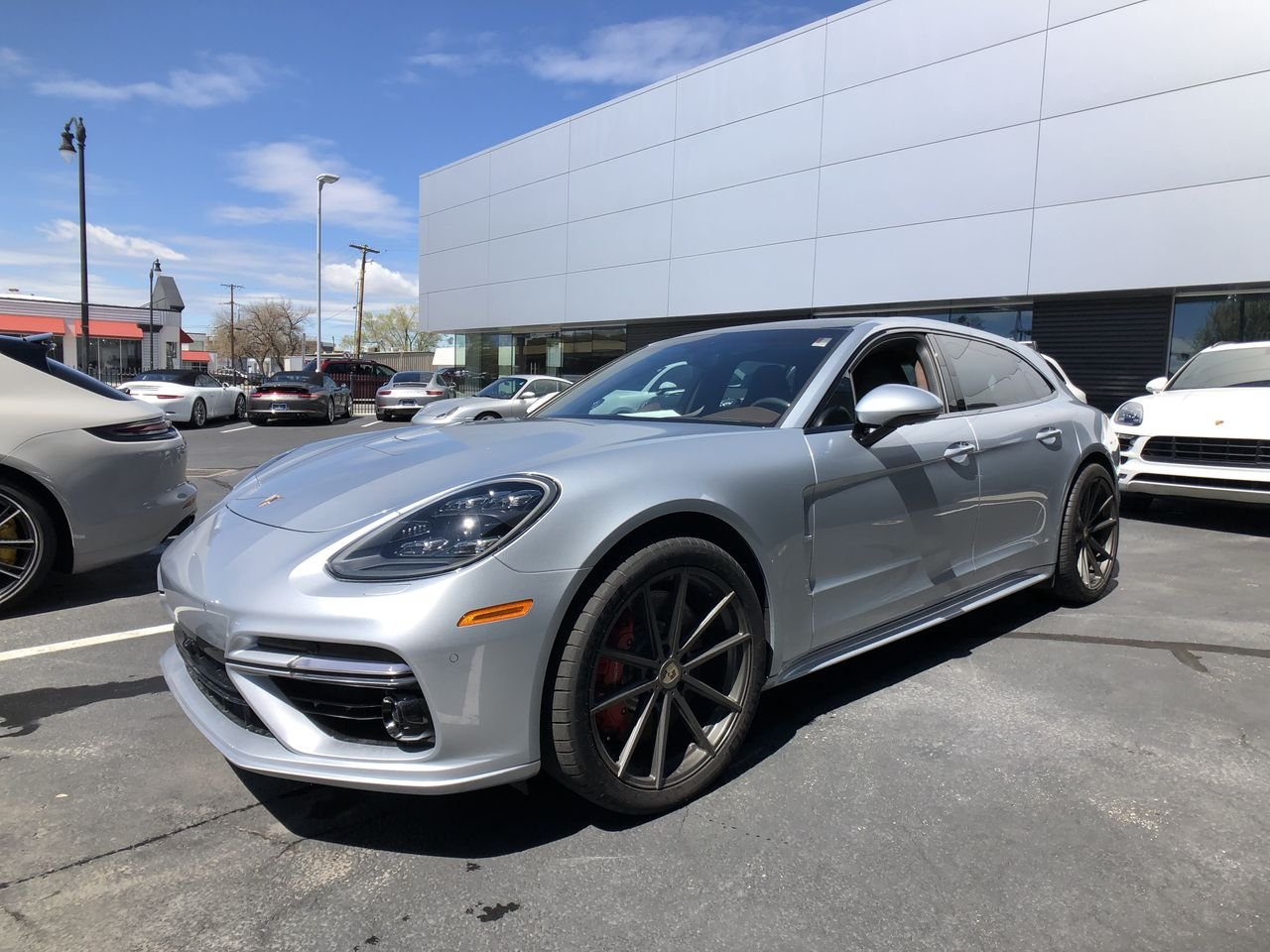 Certified Pre Owned 2018 Porsche Panamera Turbo Sport Turismo