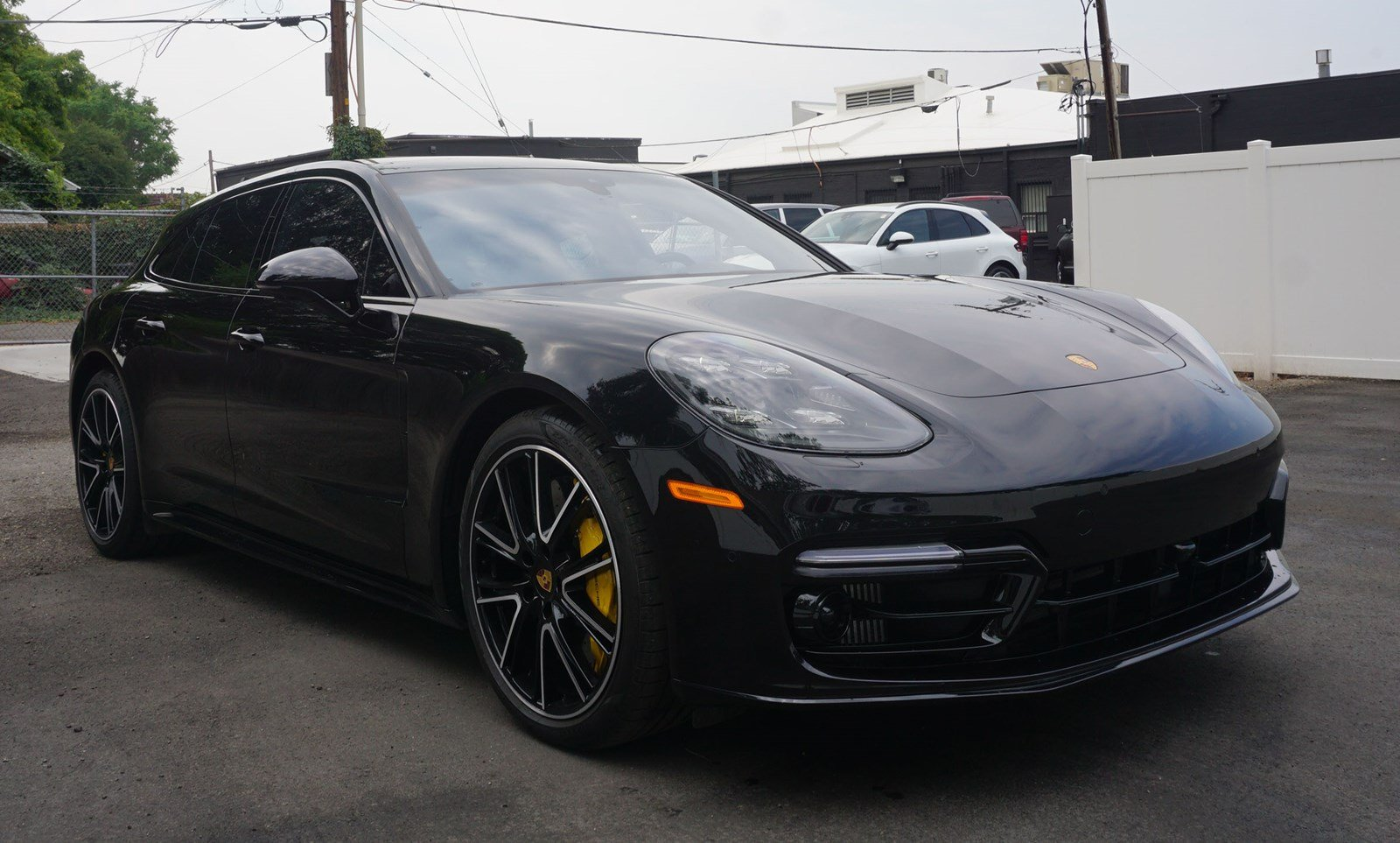 Certified Pre Owned 2018 Porsche Panamera Turbo Sport Turismo Awd