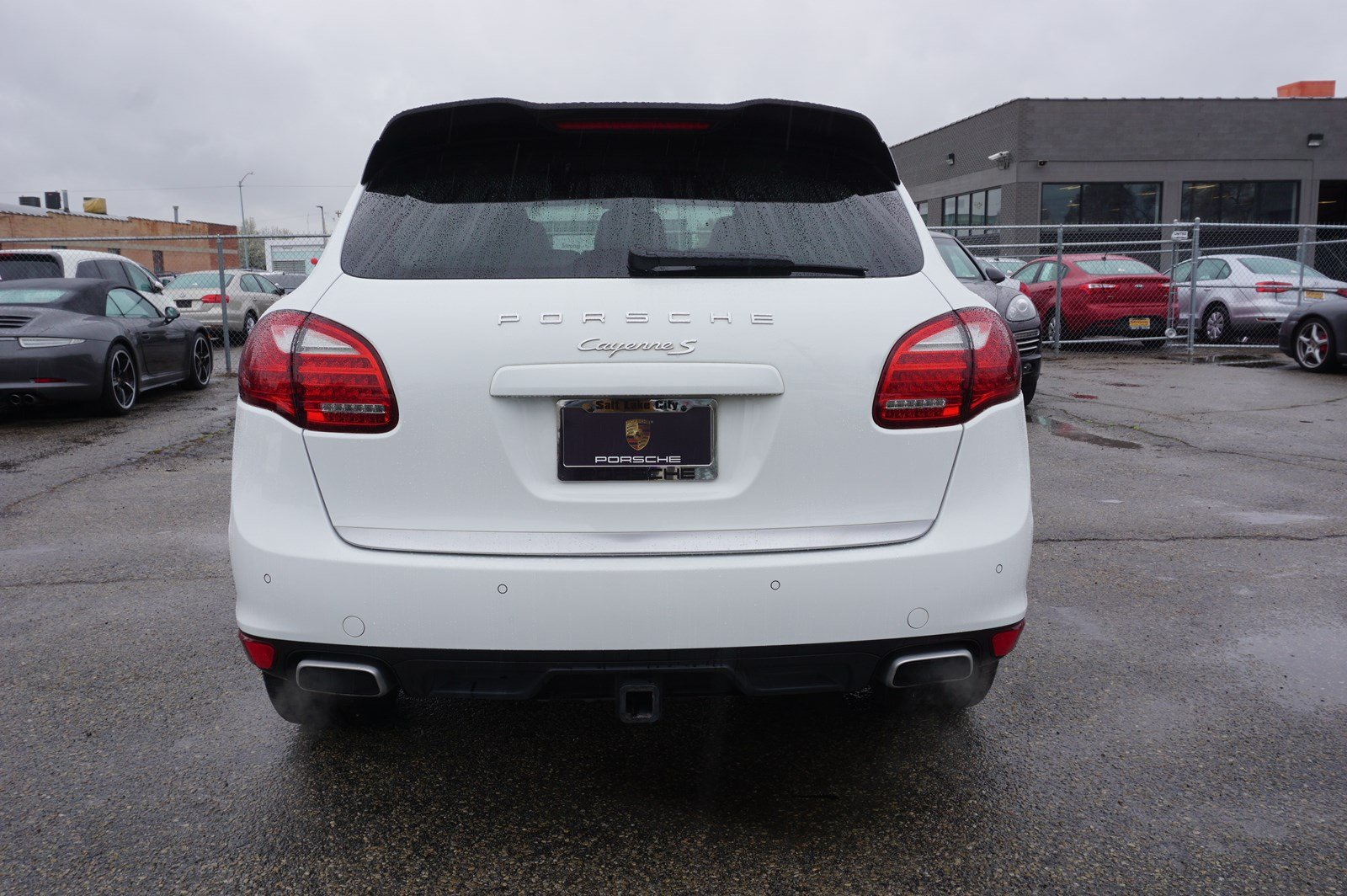 Certified Pre-Owned 2013 Porsche Cayenne S