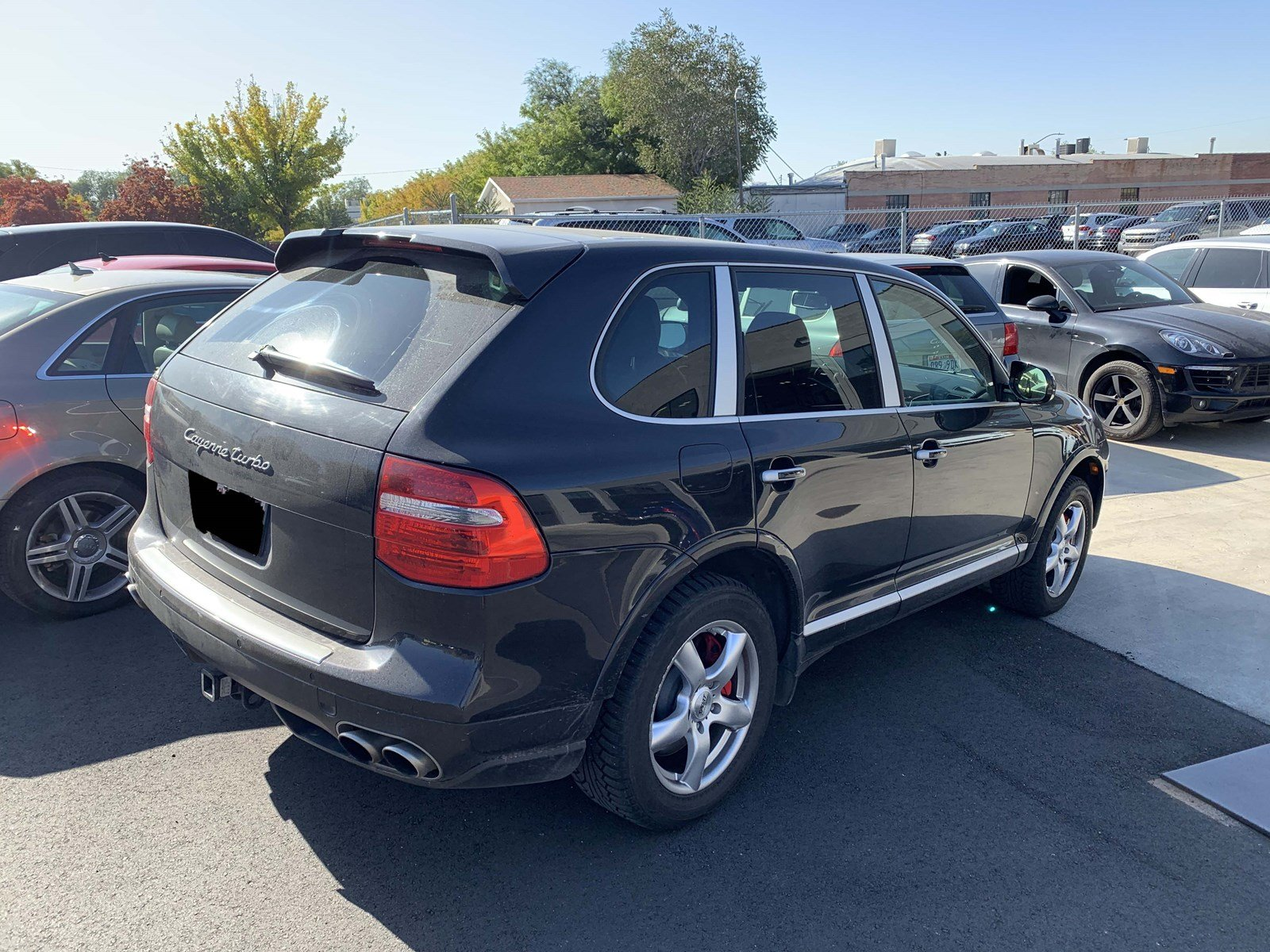 Certified Pre-Owned 2008 Porsche Cayenne Turbo