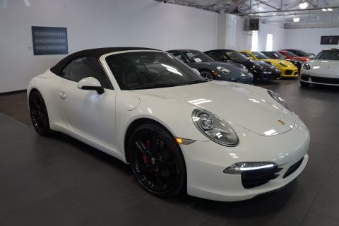 Certified Pre-Owned 2012 Porsche 911 991 Carrera S Cab.