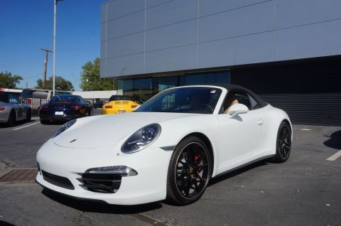 Certified Pre-Owned 2016 Porsche 911 Carrera 4S Cabriolet