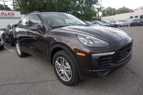 Certified Pre-Owned 2018 Porsche Cayenne S